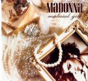 "MATERIAL GIRL - USA 2 TRACK 12"" VINYL (PEARLS P/S) (SEALED)"